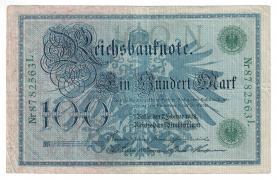 100 марок 1908 год