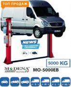 Automobile lifts for service stations in the range