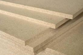 Chipboard plate brushed with sending across Ukraine