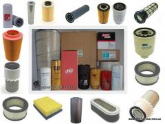 Filter hydraulic, air, oil, fuel