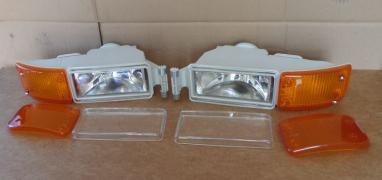 Headlights, galogenki, turns MAN L2000, LE, TGL