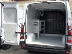 Переоборудование грузового отсека, обшивка, установка кресел