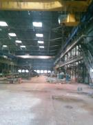 Renting industrial premises with a crane and equipment rental