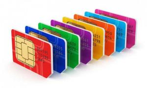 Shop foreign SIM cards in Ukraine