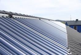 Установим солнечные коллекторы для отопления и ГВС